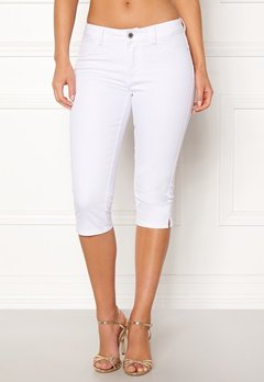 VERO MODA Hot Seven Slit Knickers Bright White Bubbleroom.no