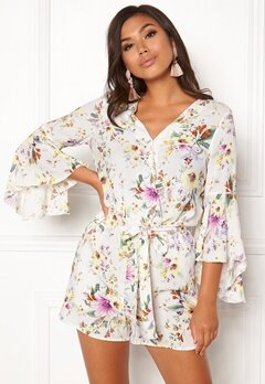 VERO MODA Iselin 7/8 Playsuit Snow White Bubbleroom.no