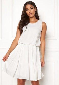 VERO MODA Jackie SL Short Dress Snow White Bubbleroom.no