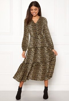 VERO MODA Leo Ankle Dress Black Bubbleroom.no
