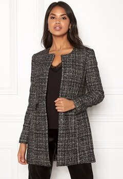 VERO MODA Lily Wool 3/4 Jacket Oatmeal Bubbleroom.no
