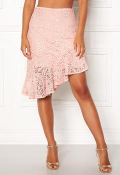 VERO MODA Lizz HW BLK Skirt Sepia Rose Bubbleroom.no