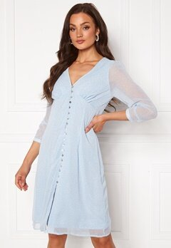 VERO MODA Loula 7/8 Dress Placid Blue Bubbleroom.no