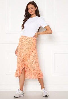 VERO MODA Loula H/W Wrap Skirt Chintz Rose Bubbleroom.no