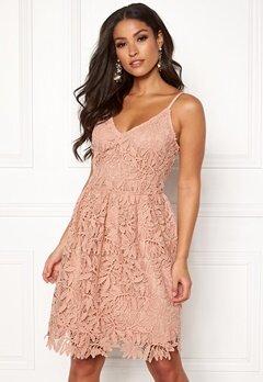 VERO MODA Luna SL Dress Misty Rose Bubbleroom.no