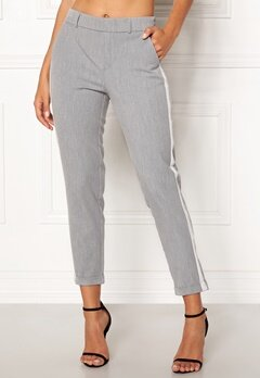 VERO MODA Maya Loose Panel Pant Light Grey Melange Bubbleroom.no