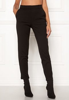 VERO MODA Maya MR Loose Solid Pant Black Bubbleroom.no
