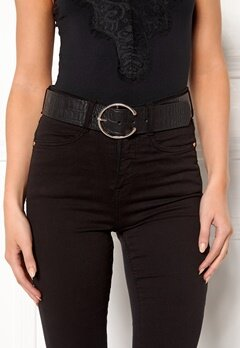 VERO MODA Palermo Leather Belt Black Bubbleroom.no
