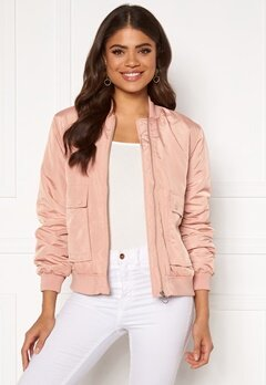 VERO MODA Pau Short Jacket Mahogany Rose Bubbleroom.no