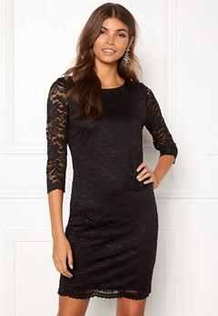 VERO MODA Sandra 3/4 Lace Dress Black Bubbleroom.no