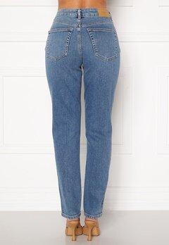 VERO MODA Sara Relaxed Jeans Medium Blue Denim Bubbleroom.no