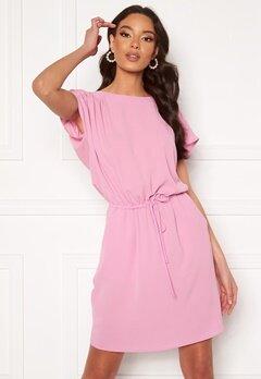 VERO MODA Sasha Bali SS Short Dress Pastel Lavender<br>  Bubbleroom.no
