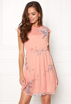 VERO MODA Satina Cap Dress Misty Rose Bubbleroom.no