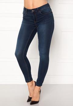 VERO MODA Seven Shape Up Jeans Dark Blue Denim Bubbleroom.no