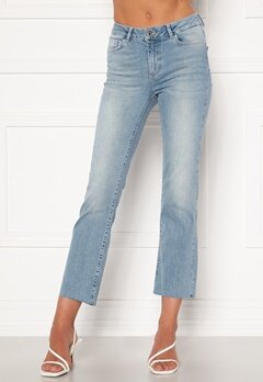 VERO MODA Sheila Kick Flare Jeans Light Blue Denim Bubbleroom.no