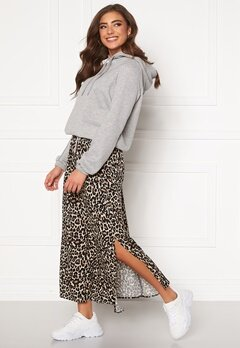 VERO MODA Simply Easy Maxi Skirt Oatmeal Bubbleroom.no