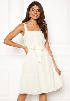 VERO MODA Soleima SL Dress Snow White Bubbleroom.no