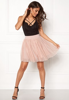 VERO MODA Tulle Short Skirt Dusty Rose Bubbleroom.no
