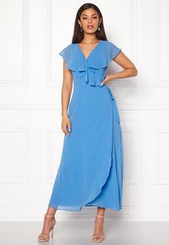 VERO MODA Vida SL Ankle Dress Granada Sky Bubbleroom.no