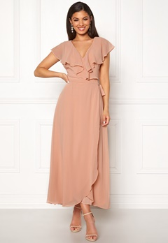 VERO MODA Vida SL Ankle Dress Misty Rose Bubbleroom.no