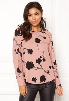 VERO MODA Zitta LS Top Misty Rose Bubbleroom.no
