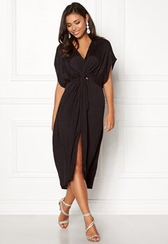 VILA Adina Caftan Black Bubbleroom.no
