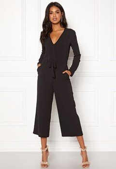 VILA Alinea New Jumpsuit Black Bubbleroom.no