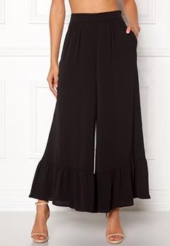 VILA Alure Flared 7/8 Pants Black Bubbleroom.no