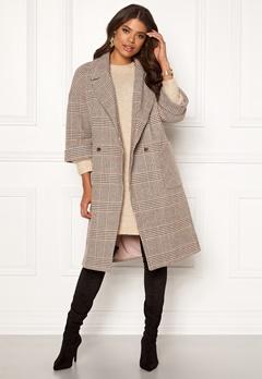 VILA Amoro Wool Sleeve Coat Puce Bubbleroom.no