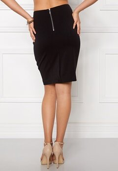 VILA Asmin Skirt Black Bubbleroom.no