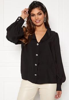 VILA Cameli L/S Shirt Black Bubbleroom.no