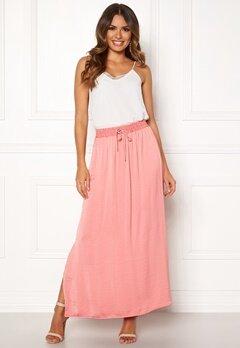 VILA Cava Maxi Skirt Brandied Apricot Bubbleroom.no