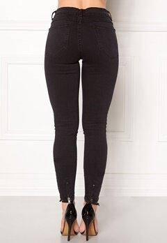 VILA Commit Lux RW 5p Jeans Black Bubbleroom.no