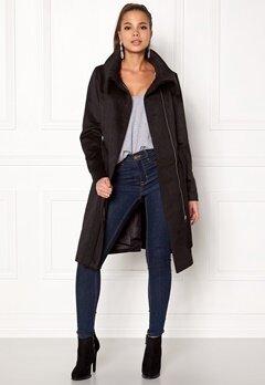 VILA Dahlia Wool Coat Black Bubbleroom.no