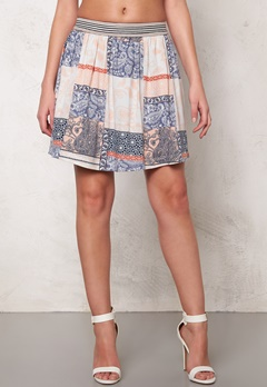 VILA Dalias Skirt Snow White Bubbleroom.no