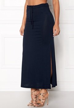 VILA Deana Maxi Skirt Total Eclipse Bubbleroom.no
