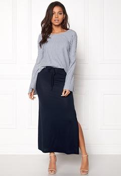 VILA Deana Maxi Skirt Total Eclipse Bubbleroom.no