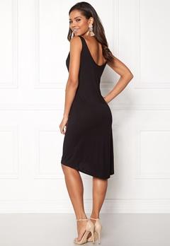 VILA Deana S/L Dress Black Bubbleroom.no