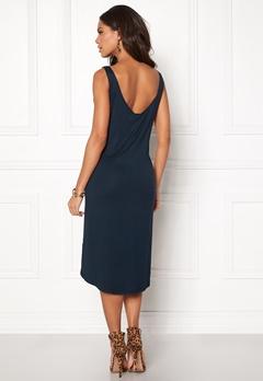 VILA Deana S/L Dress Total Eclipse Bubbleroom.no