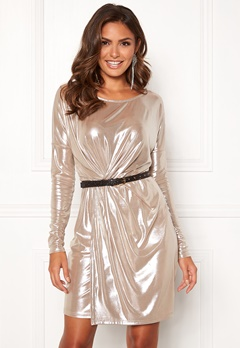 VILA Disco S/L Dress Morganite Bubbleroom.no