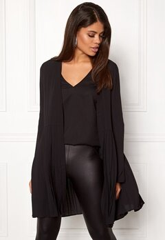 VILA Elisabeth Coverup Black Bubbleroom.no