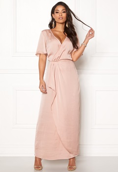VILA Floating 2/4 Ankle Dress Rose Smoke Bubbleroom.no