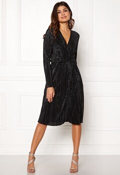 VILA Frances New Knot Dress Black Bubbleroom.no