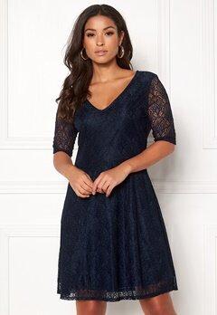 VILA Frej 2/4 Short Dress Total Eclipse Bubbleroom.no