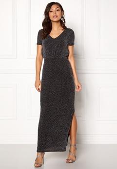 VILA Glitsay Dress Black/silver Bubbleroom.no