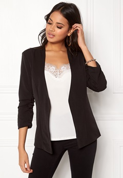 VILA Her 3/4 New Blazer Black Bubbleroom.no