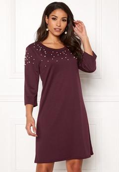 VILA Hilmas S/S Dress Winetasting Bubbleroom.no