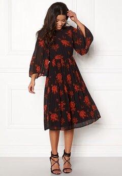 VILA Jelana 3/4 Sleeve Dress Black Bubbleroom.no