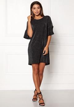 VILA Jomine T-Shirt Dress Black Bubbleroom.no