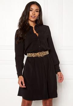 VILA Laia Shirt Dress Black Bubbleroom.no